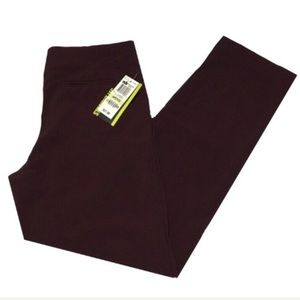 Style & Co straight leg pants size 4P burgundy